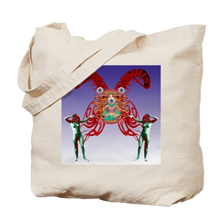 The Secret Master of the Worl Tote Bag