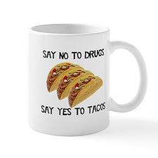 Funny Drugs Tacos Mug