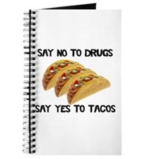 Funny Drugs Tacos Journal