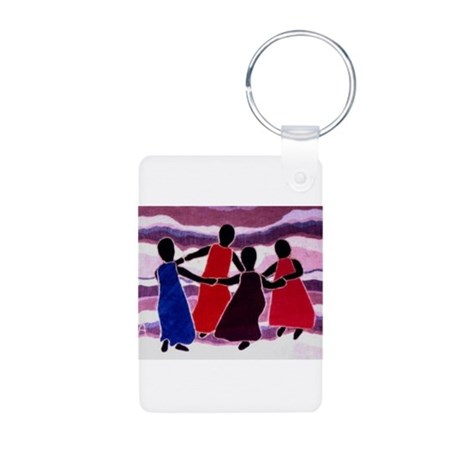 Celebration Aluminum Photo Keychain