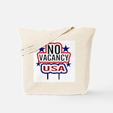 USA NO Vacancy Tote Bag