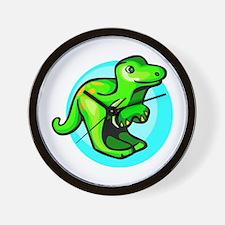Baby Dino Wall Clock