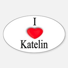 Katelin Oval Decal