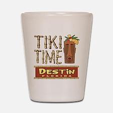 Destin Tiki Time - Shot Glass