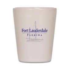 Ft Lauderdale Sailboat - Shot Glass