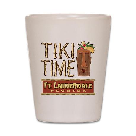 Fort Lauderdale Tiki - Shot Glass