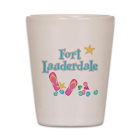 Ft Lauderdale Flip Flops - Shot Glass
