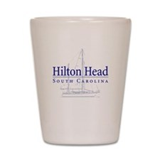 Hilton Head Sailboat - Shot Glass