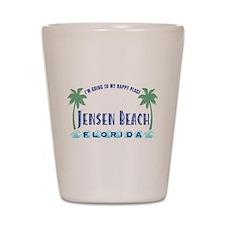 Jensen Beach Happy Place - Shot Glass