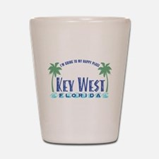 Key West Happy Place - Shot Glass