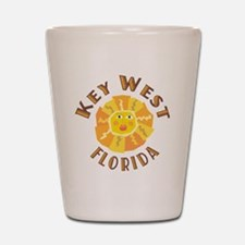 Key West Sun - Shot Glass