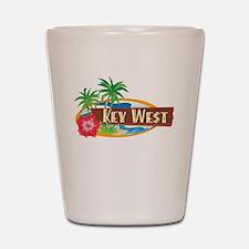 Tropical Key West - Shot Glass