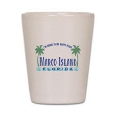 Marco Island Happy Place - Shot Glass