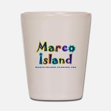 Tropical Marco Island - Shot Glass
