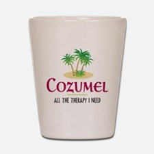 Cozumel Therapy - Shot Glass
