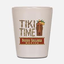 Puerto Vallarta Tiki Time - Shot Glass