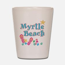 Myrtle Beach Flip-Flops - Shot Glass