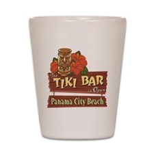 Panama City Beach Tiki Bar - Shot Glass