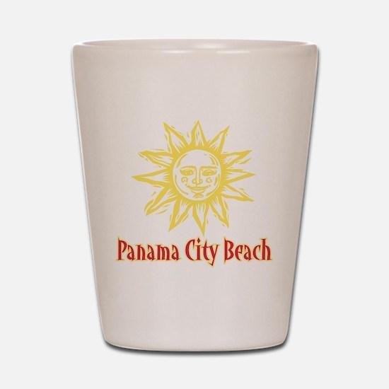 Panama City Beach Sun - Shot Glass