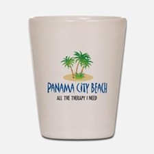Panama City Beach Therapy - Shot Glass