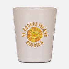 St. George Island Sun - Shot Glass