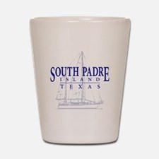 South Padre Sailboat - Shot Glass