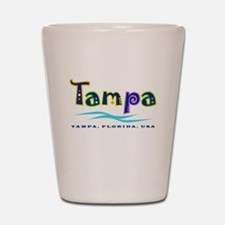 Tampa Tropical Type - Shot Glass
