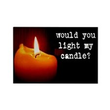 """Light My Candle"" Magnet"