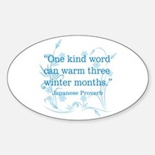 One Kind Word Decal