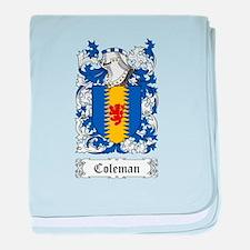 Coleman baby blanket