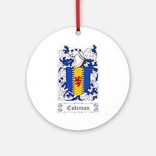 Coleman Ornament (Round)