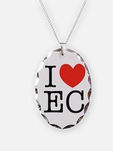 """""""I (heart) EC"""" Necklace"""