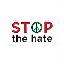 Cute Anti bigotry Aluminum License Plate