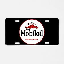 MobilOil Gargoyle Aluminum License Plate