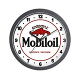 Mobil oil Wall Clocks