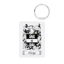 Clegg Aluminum Photo Keychain