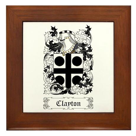 Clayton Framed Tile