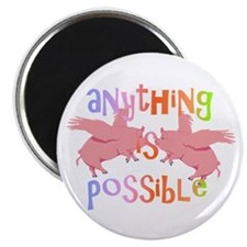 "Anything is Possible 2.25"" Magnet (100 pack)"