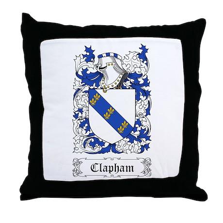 Clapham Throw Pillow