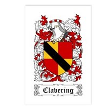 Clavering Postcards (Package of 8)