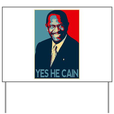 Herman Cain 2012 Yard Sign
