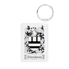 Churchman Aluminum Photo Keychain