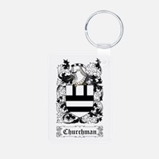 Churchman Aluminum Photo Keychain