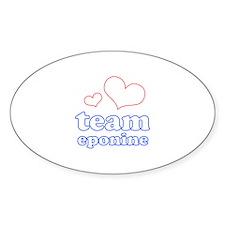 Team Eponine Decal