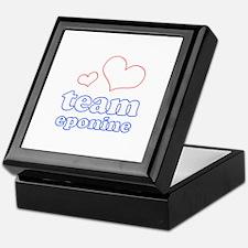 Team Eponine Keepsake Box