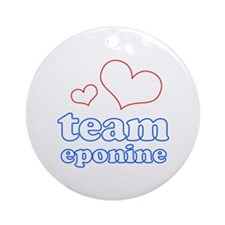 Team Eponine Ornament (Round)