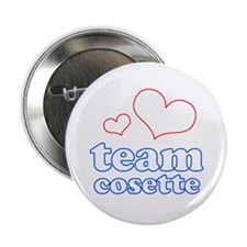 "Team Cosette 2.25"" Button"