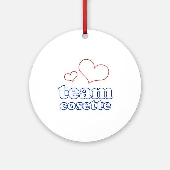 Team Cosette Ornament (Round)