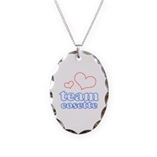 Team Cosette Necklace Oval Charm