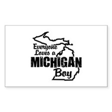Michigan Boy Decal